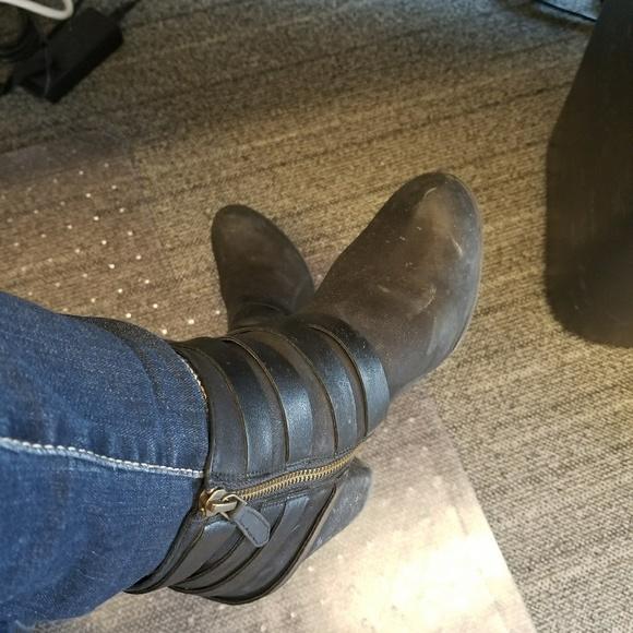 bcfaea159792 BP Shoes - Black pair of BP booties w  gold detail🎉🎊❣